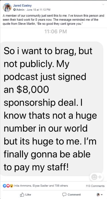$8,000 Sponsorship