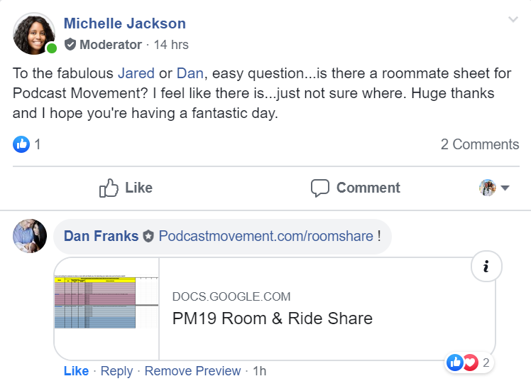 PM19 Roomshare and Rideshare doc